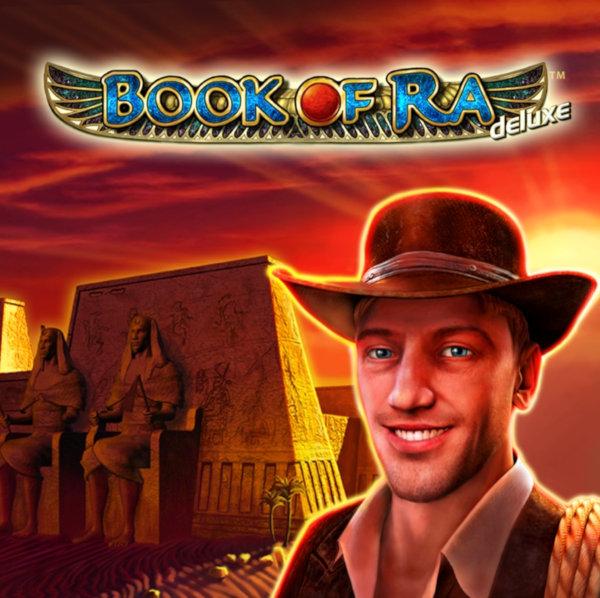 Book of Ra deluxe spēļu automāta logo